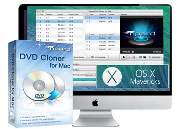 Mac DVD Copy - Clone DVD to DVD Disc/folder/ISO files on Mac
